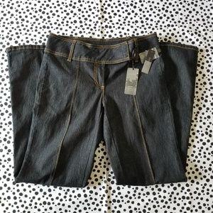 Bisou Bisou Dark Denim Jeans 8 (NWT)